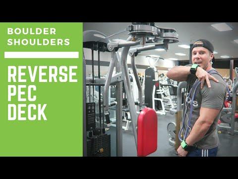 Boulder Shoulders: Reverse Pec Deck for Rear Delts
