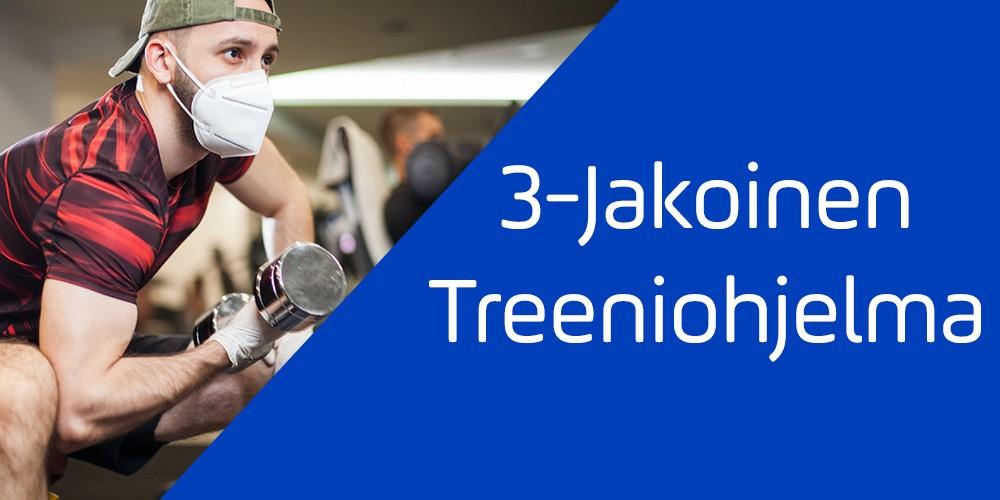 3-Jakoinen treeniohjelma